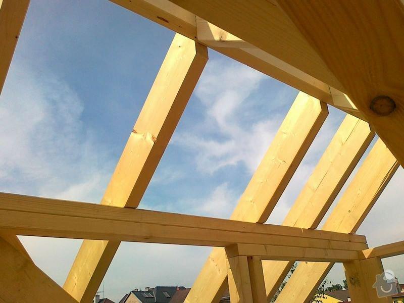 Rekonstrukce rodinného domu formou nízkoenergetické dřevostavby.: 16082012573