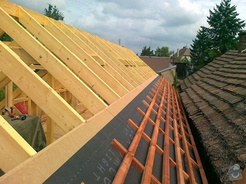 Rekonstrukce rodinného domu formou nízkoenergetické dřevostavby.: 17082012580