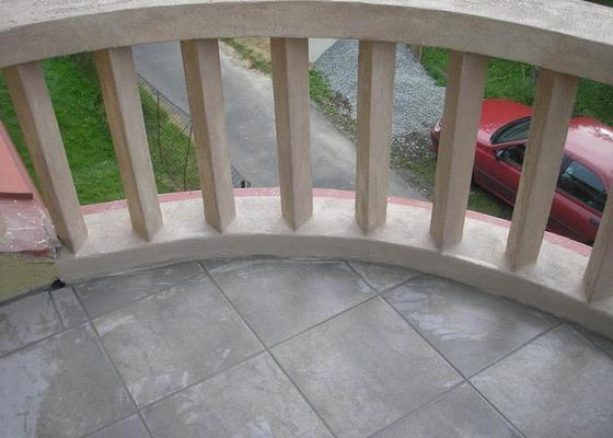 Rekonstrukce balkonu