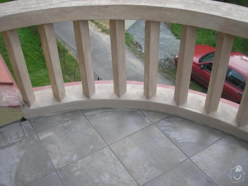 Rekonstrukce balkonu: 4