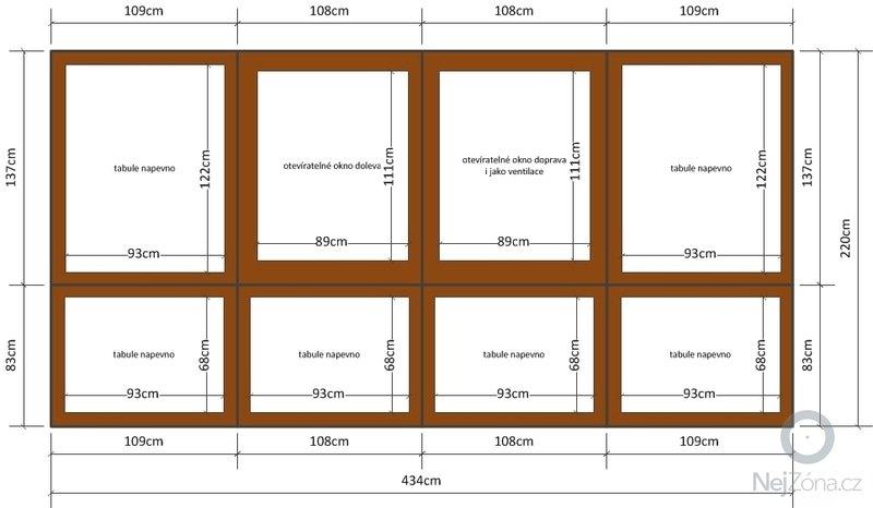 Výměna jednoduchých dřevěných oken za dvojitá na zimní zahradě: okno_zimni_zahrada