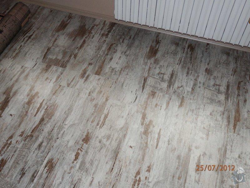 Rekonstrukce bytového jádra,pokládka plovoucí podlahy: P7250027