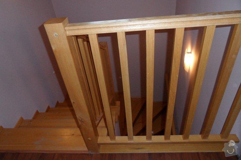 Broušení a lakování dřevěných schodů: SAM_1879