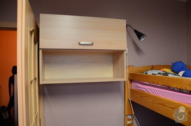 Dětský pokoj, vestavěná skříň a stůl: DSC_0998