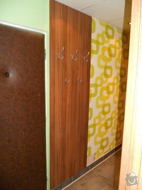 Výroba vestavěné skříně, vestavěného botníku, 2 ks komod , a další truhlářské práce: DSCN1380