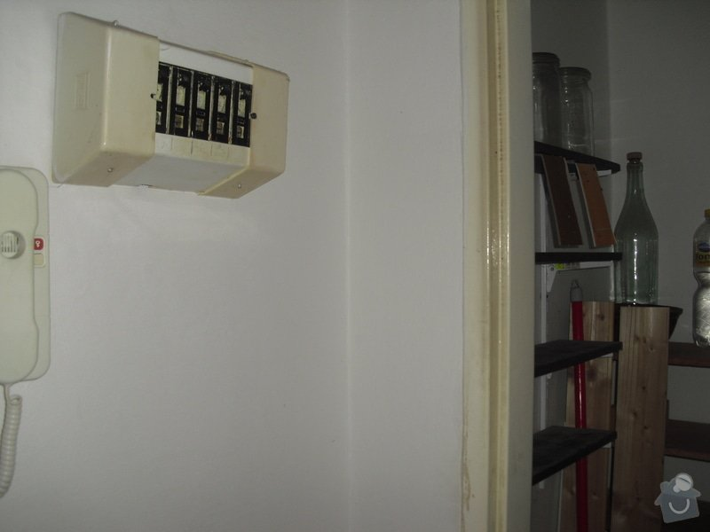 Rekonstrukce garsonky Praha 3: CIMG0924
