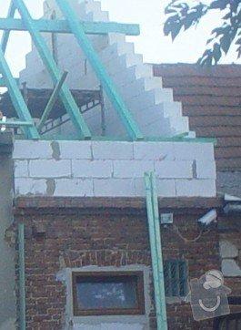 Stavební příprava na rekonstrukci střechy: kolar1