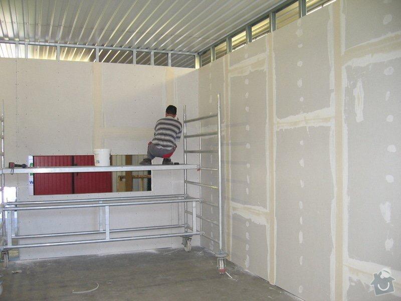 Montáže SDK příček, malby stěn, minerální podhledy a izolace: IMG_5519