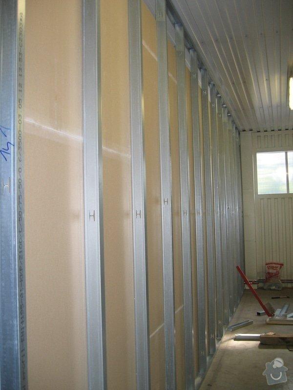 Montáže SDK příček, malby stěn, minerální podhledy a izolace: IMG_5521