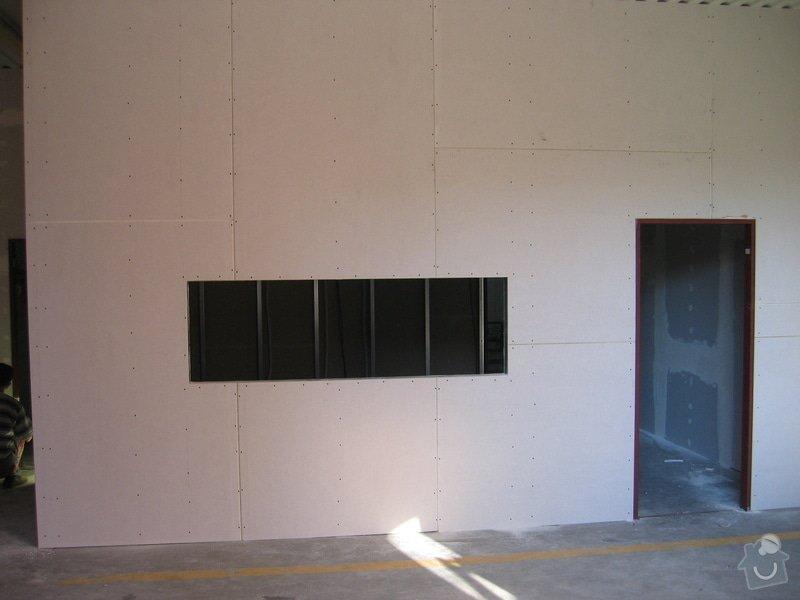 Montáže SDK příček, malby stěn, minerální podhledy a izolace: IMG_5530