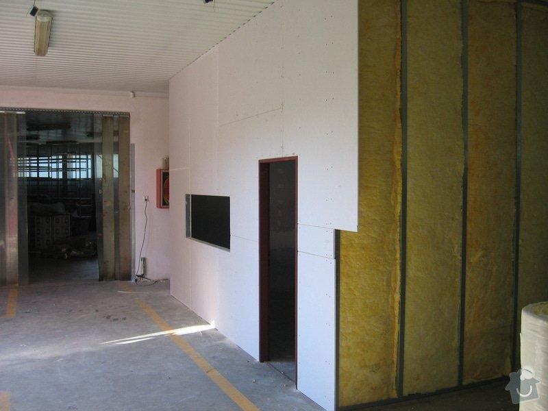 Montáže SDK příček, malby stěn, minerální podhledy a izolace: IMG_5534