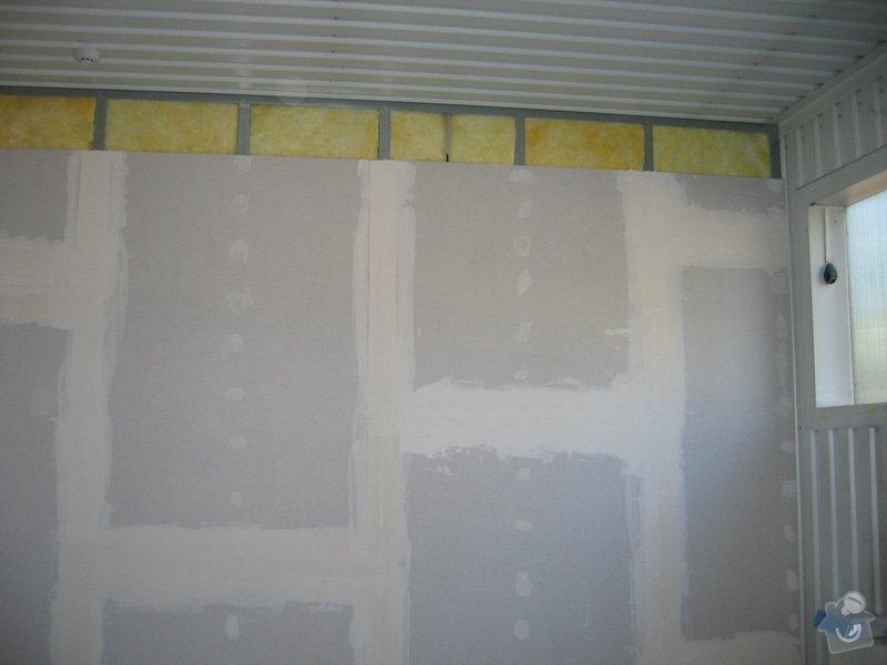 Montáže SDK příček, malby stěn, minerální podhledy a izolace: IMG_5536
