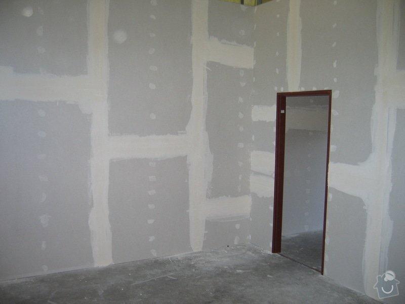 Montáže SDK příček, malby stěn, minerální podhledy a izolace: IMG_5537