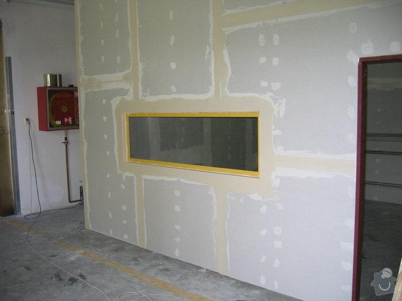 Montáže SDK příček, malby stěn, minerální podhledy a izolace: IMG_5538