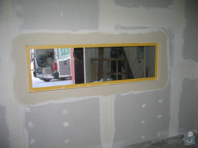 Montáže SDK příček, malby stěn, minerální podhledy a izolace: IMG_5539