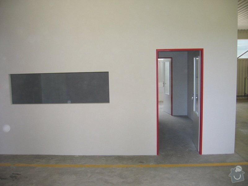 Montáže SDK příček, malby stěn, minerální podhledy a izolace: IMG_5543