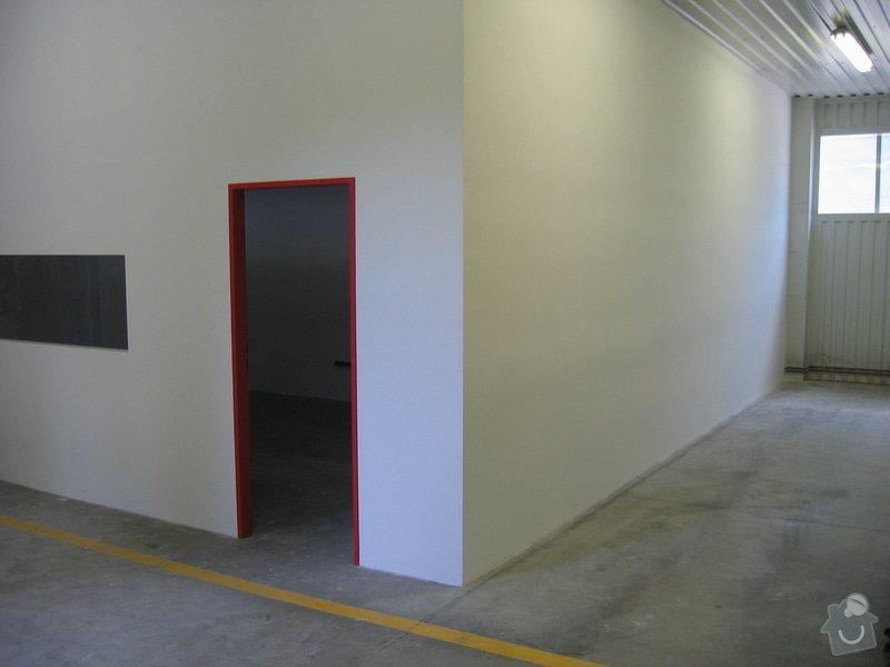 Montáže SDK příček, malby stěn, minerální podhledy a izolace: IMG_5544