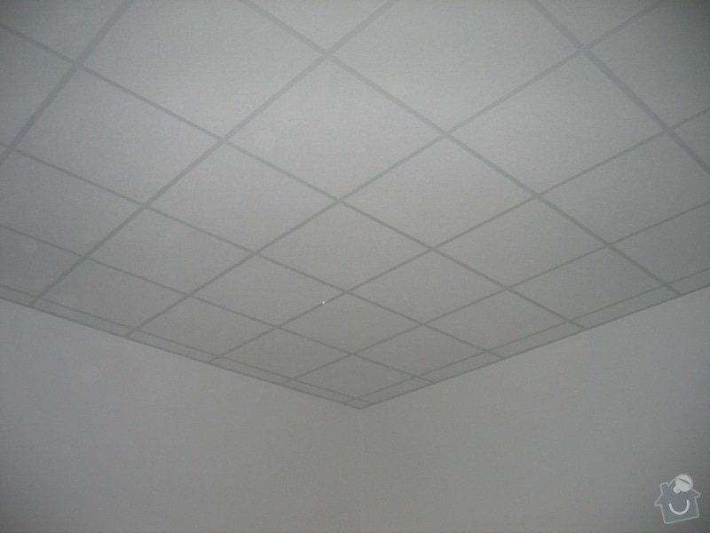 Montáže SDK příček, malby stěn, minerální podhledy a izolace: IMG_5545