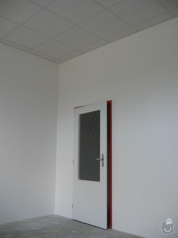 Montáže SDK příček, malby stěn, minerální podhledy a izolace: IMG_5546