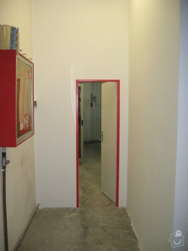 Montáže SDK příček, malby stěn, minerální podhledy a izolace: IMG_5549