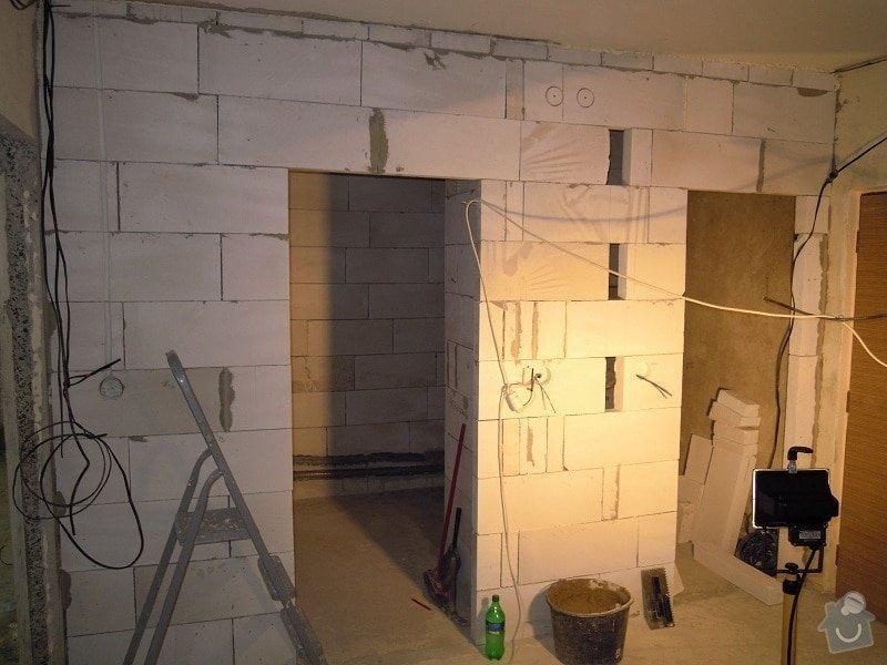 Kompletní rekonstrukce bytové jednotky.4+1: 12
