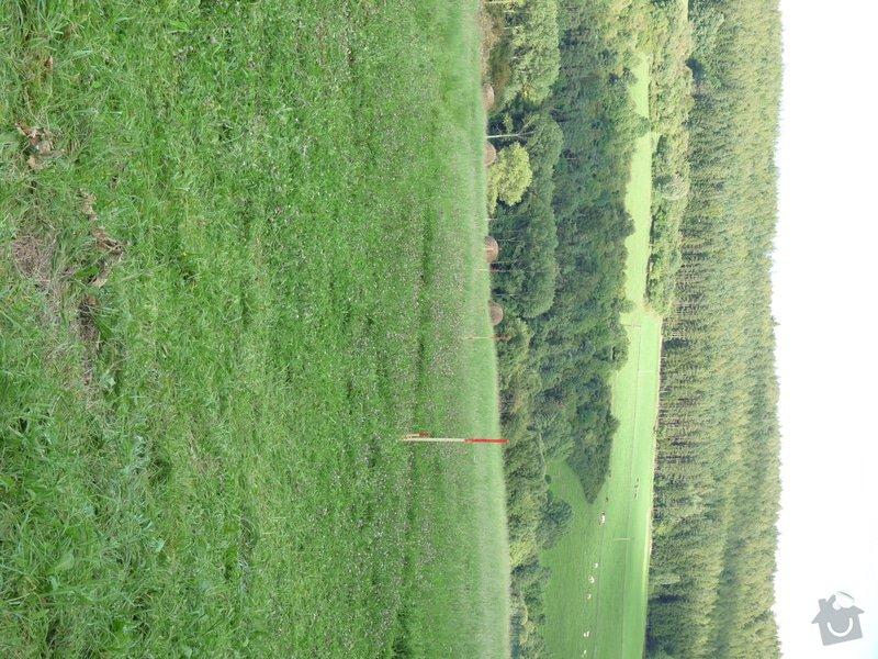 Oplocení pozemku na jaře 2013: P1050962