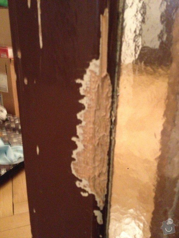 Oprava dřevěných částí dveří: IMG_0709
