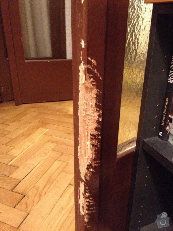 Oprava dřevěných částí dveří: IMG_0711