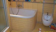 Kompletní rekonstrukce koupelny v RD