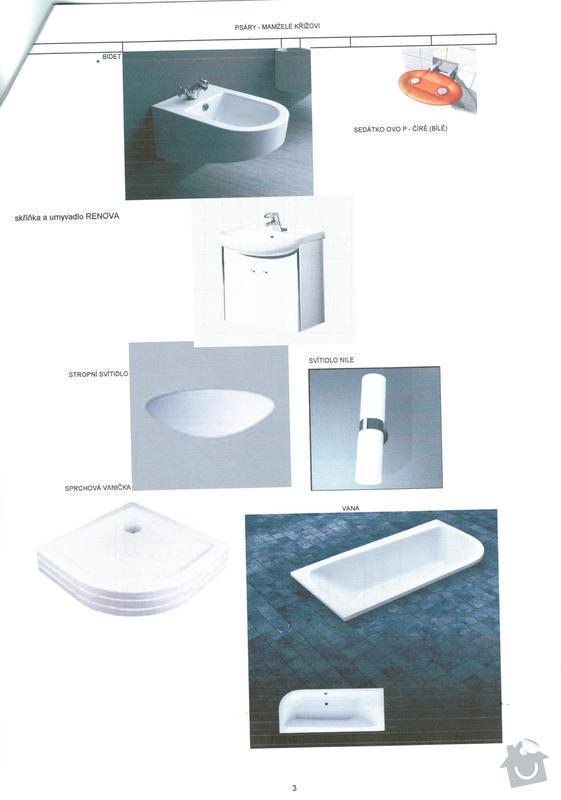 Kompletní rekonstrukce koupelny v RD: Prospekty