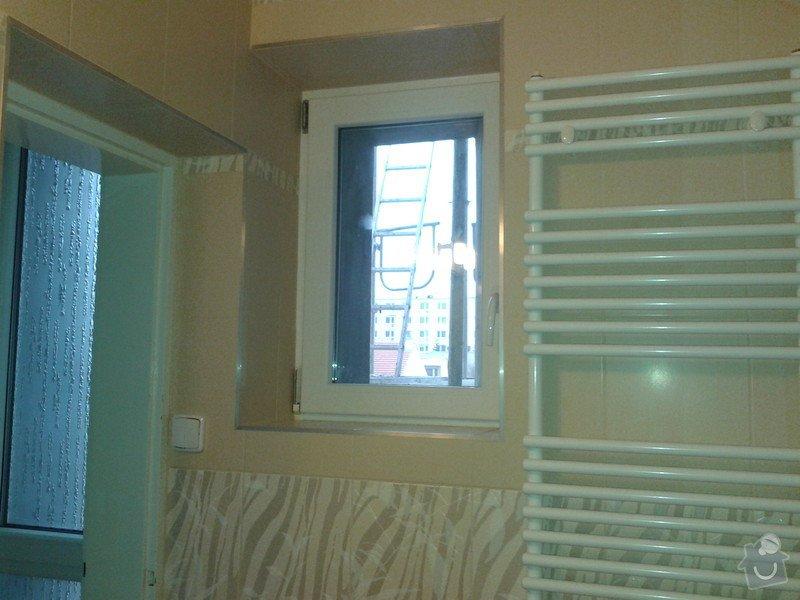 Rekonstrukce koupelny, obklady, dlažba: 20121121_104620
