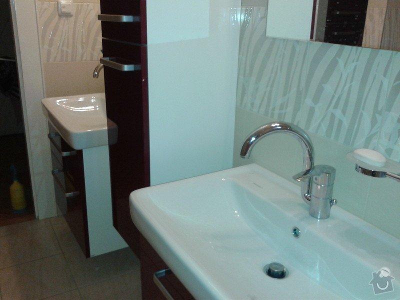 Rekonstrukce koupelny, obklady, dlažba: 20121121_104650