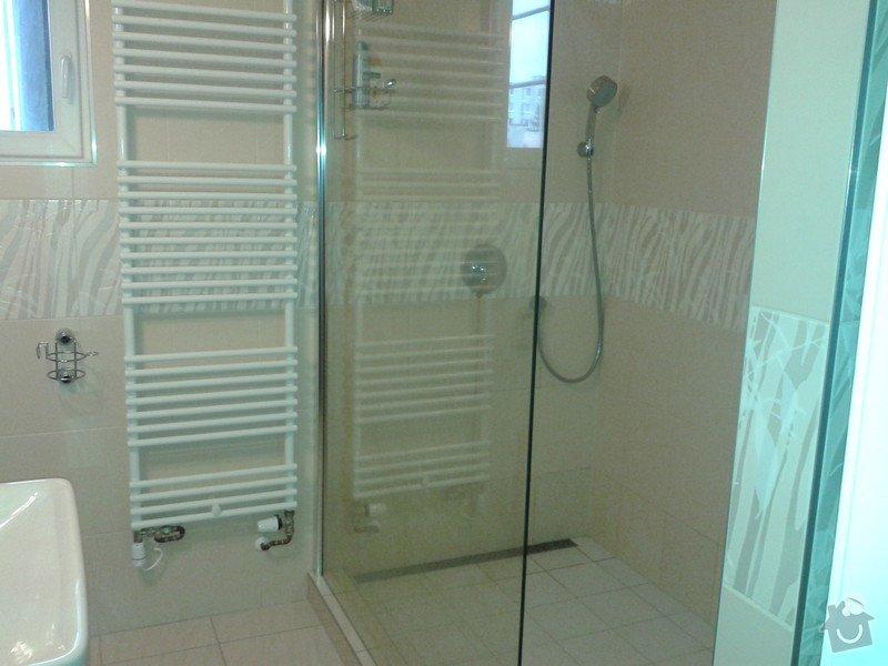 Rekonstrukce koupelny, obklady, dlažba: 20121121_104717