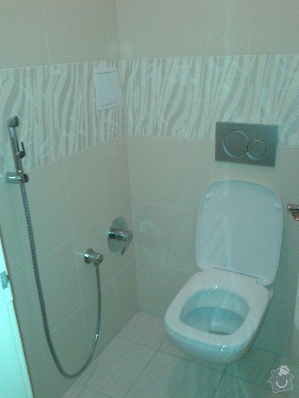 Rekonstrukce koupelny, obklady, dlažba: 20121121_105009
