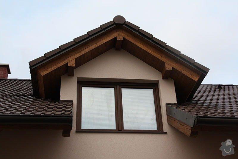Podbití střechy: 1