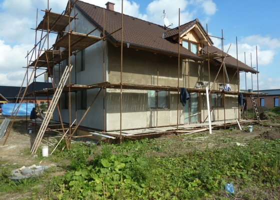 Podbití střechy