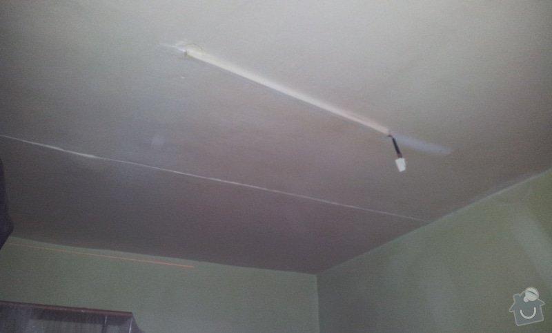 Nový rovný strop a výmalba: 20121115_085506