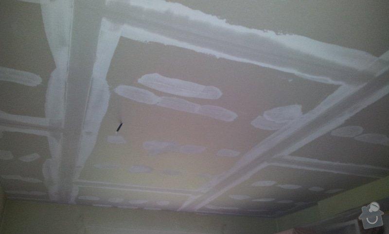 Nový rovný strop a výmalba: 20121115_122932