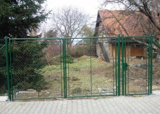 Montáž plotu včetně materiálu