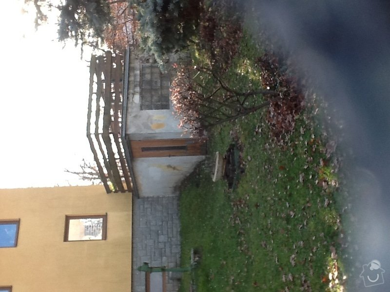 Stavba podsklepené terasy u rodinného domu: image