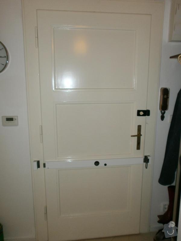 Čalounění dveří: dvere