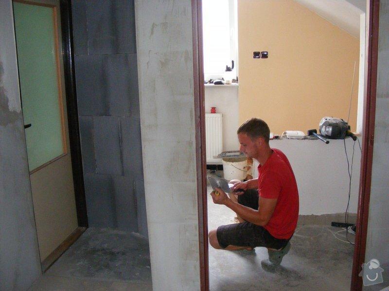 Rekonstrukce chodby ( elektrika,omítky,oblouk z Ytongu,dlažba ): DSCF1563
