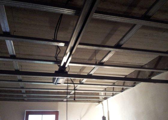 Zateplení stropu garáže