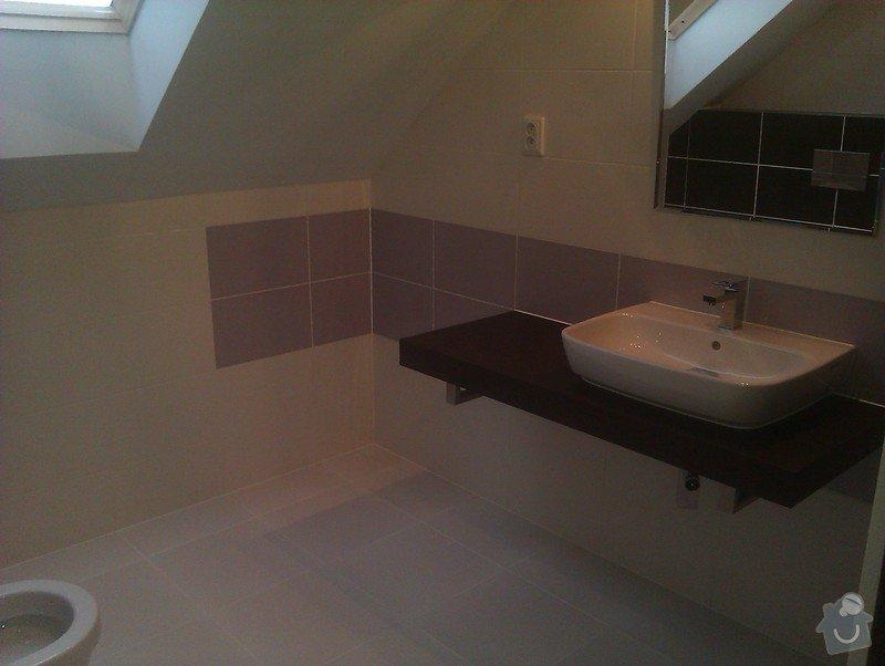 Stavba dvou koupelen v rodinném domě: 227
