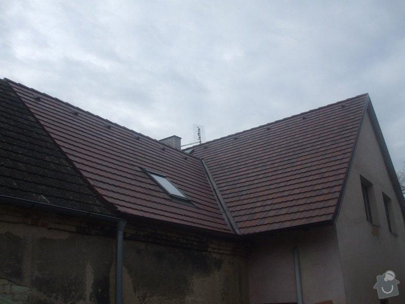 Střecha bobrovka betonová: 125