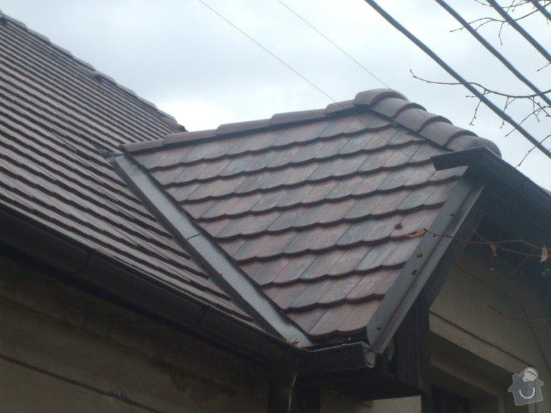 Střecha bobrovka betonová: 129