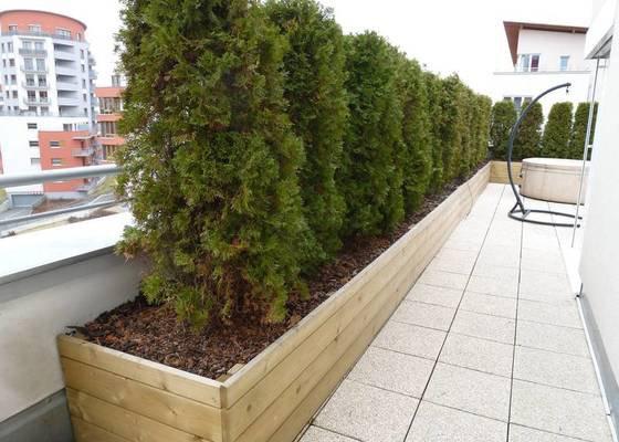Realizace střesní zahrady