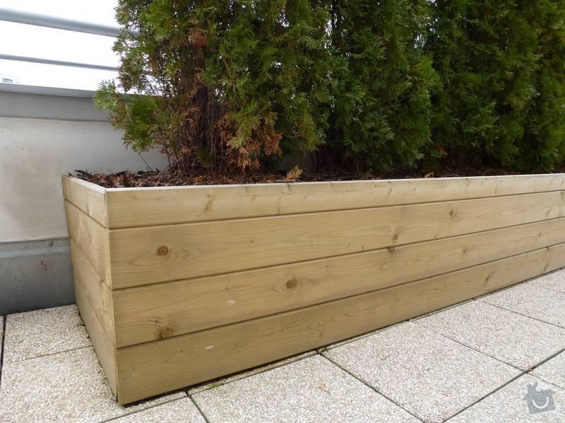 Realizace střesní zahrady: terasa3
