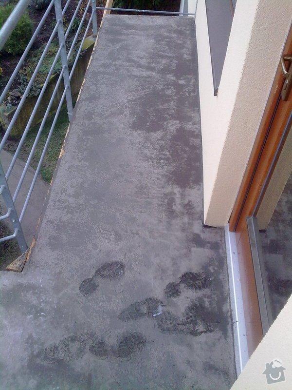 Pokládka venkovní dlažby na beton - schody a chodníček (cca.19m2): 271120121702