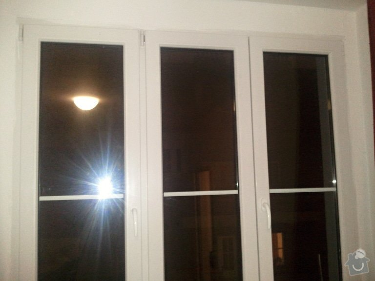 Horizontální žaluzie: okno2